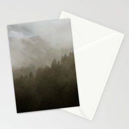 Forest Fog II Stationery Cards
