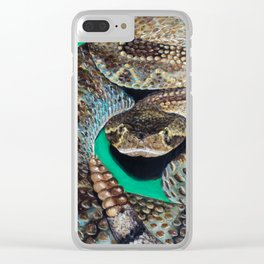 Rattler Clear iPhone Case
