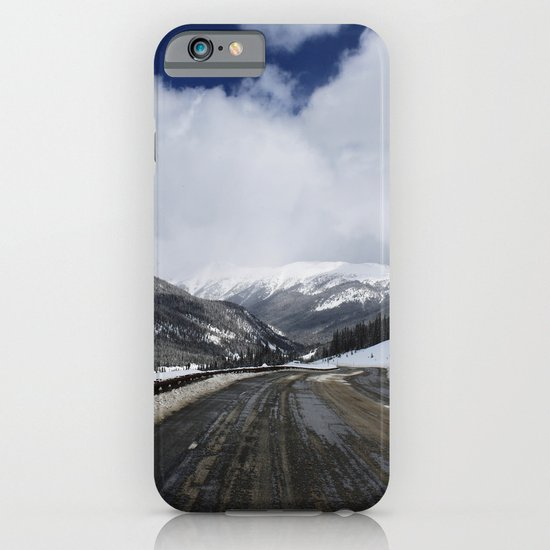 Snowy Road iPhone & iPod Case