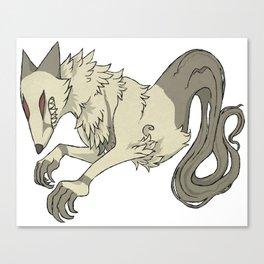 Big Bad Fox Canvas Print