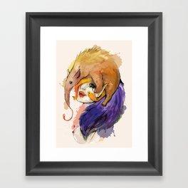 Lady Anteater Framed Art Print