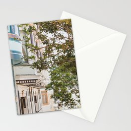 Climbing Hills in San Francisco Stationery Cards