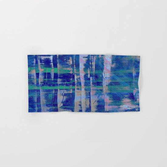 Broken Blue Hand & Bath Towel