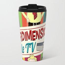 Interdimensional Cable TV Travel Mug