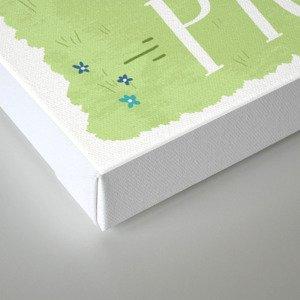 Bike to a Picnic Canvas Print
