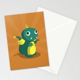 The Dino-zoo: Bat-saurus Stationery Cards