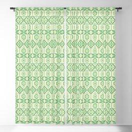 Tribal Geometric Pattern Blackout Curtain