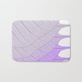 Leaves Purple Bath Mat
