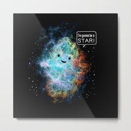 A Star Is Born Metal Print