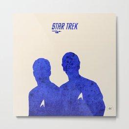Star Trek 46 Anniversary Poster - James T. Kirk quote Metal Print