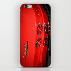 Red Corvette Sting Ray Car iPhone & iPod Skin