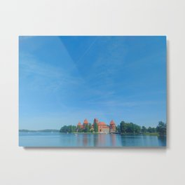 Trakai Castle, Lithuania Metal Print