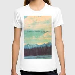 The Poetry of the Earth T-shirt