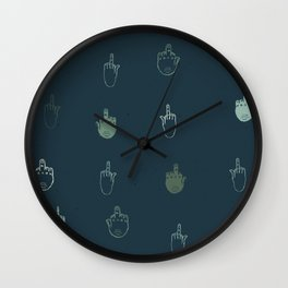 The finger Wall Clock