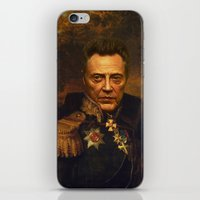 christopher walken iPhone & iPod Skins featuring Christopher Walken - replaceface by replaceface