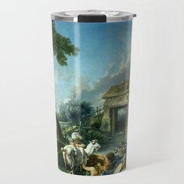 """François Boucher """"The Fountain of Love"""" Travel Mug"""