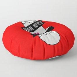 Rose City Skate Floor Pillow
