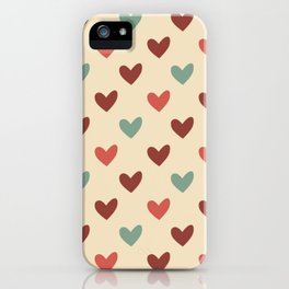 Christmas love candy iPhone Case
