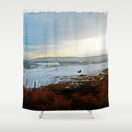 Sainte-Anne-Des-Monts and the Surf Shower Curtain