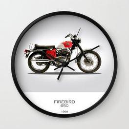 BSA Firebird 1968 Wall Clock