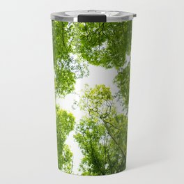 New green leaves Travel Mug