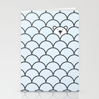 bear Stationery Cards featuring The Last Polar Bear by Quick Brown Fox