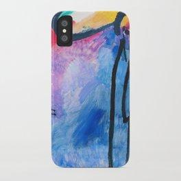 Wassily Kandinsky - Improvisation 19 - Digital Remastered Edition iPhone Case