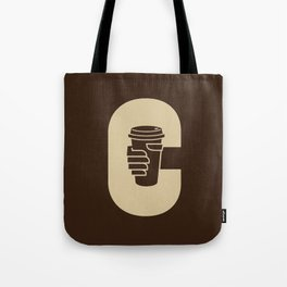C is for Coffee Tote Bag