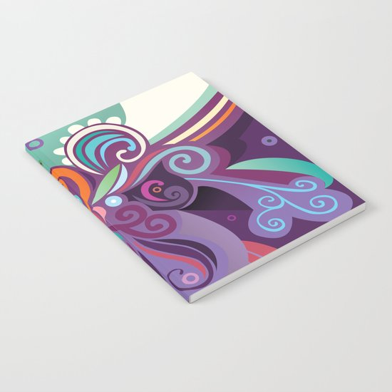 Floral curves of Joy Notebook