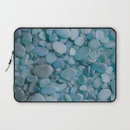 Japanese Sea Glass - Low Tide Blues II Laptop Sleeve