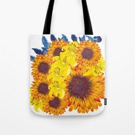 Girasols Tote Bag