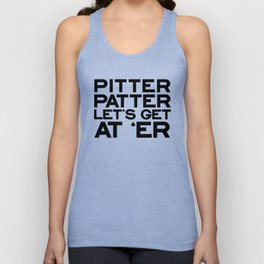 PITTER PATTER Unisex Tank Top