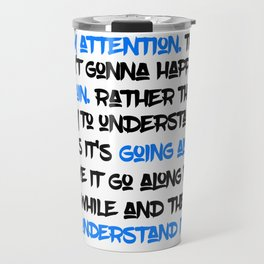 Carrie Fisher's Life Advice Travel Mug