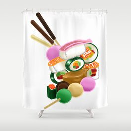 Sushi and Sweets - Full design Shower Curtain