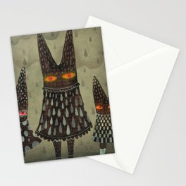The Night Lurkers Stationery Cards