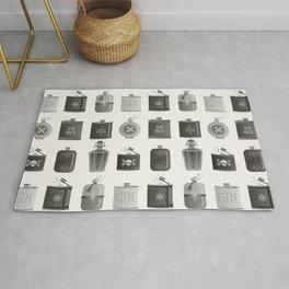 Flask Collection – Black Palette Rug