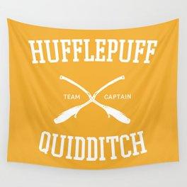 Hogwarts Quidditch Team: Hufflepuff Wall Tapestry