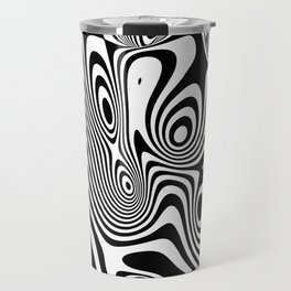 Trippy Background Travel Mug