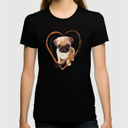 Cute Pug puppy T-shirt