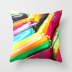 Kites Throw Pillow