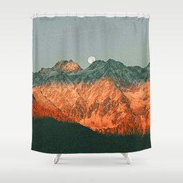 Hidden Moon Shower Curtain