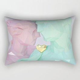 Close Lovers Rectangular Pillow