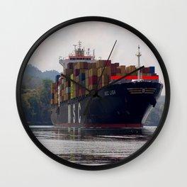 Cargo ship Wall Clock