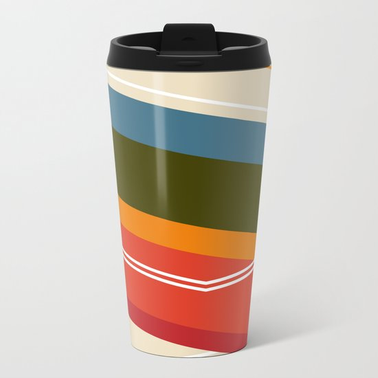 Untitled VIII Metal Travel Mug