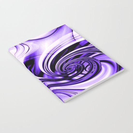 Curls Deluxe Purple Notebook