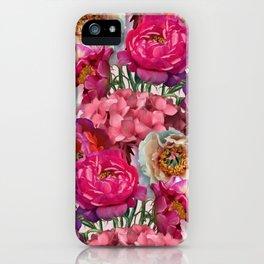 Flower garden V iPhone Case