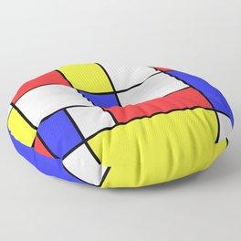 Mondrian #25 Floor Pillow