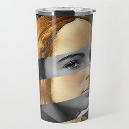 "Sandro Bottiecelli's Venus from ""Venus and Mars"" & Liz Taylor Travel Mug"
