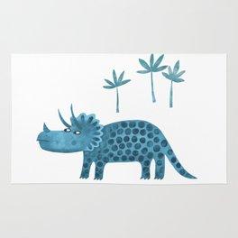 Triceratops Dinosaur Rug