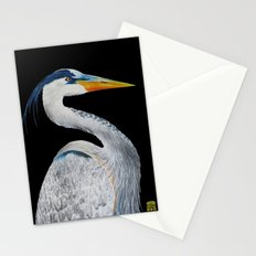 Heron Stationery Cards